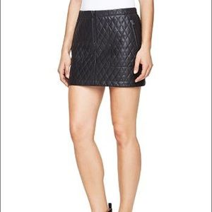 👑2/$55 DEAL👑 BCBGMAXAzria quilted leather skirt